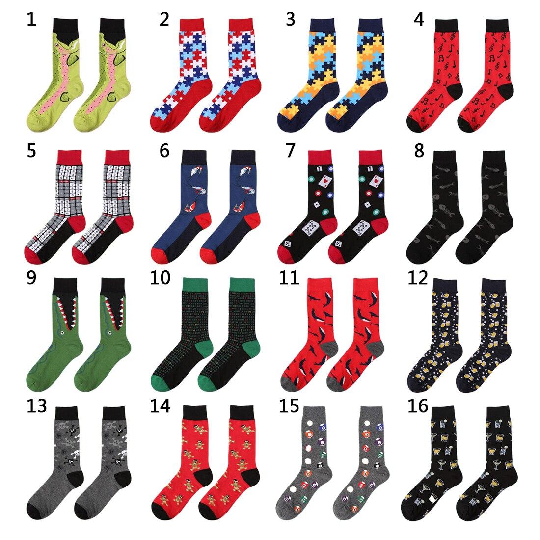 c4dd425f39910 Practical 2019 Men Women Cotton Socks Colorful Patchwork Letter Skateboard  Socks Womens Funny Socks Girl Casual Socks Underwear & Sleepwears