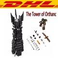 2017 Nueva LEPIN 16010 2430 Unids Señor de los Anillos de La Torre de Orthanc Modelo Kit de Construcción de Bloques de Ladrillos de Juguete Para Niños de Regalo 10237