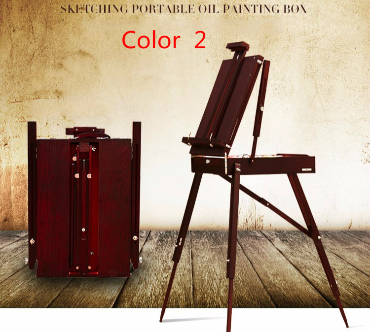 wood painting easel