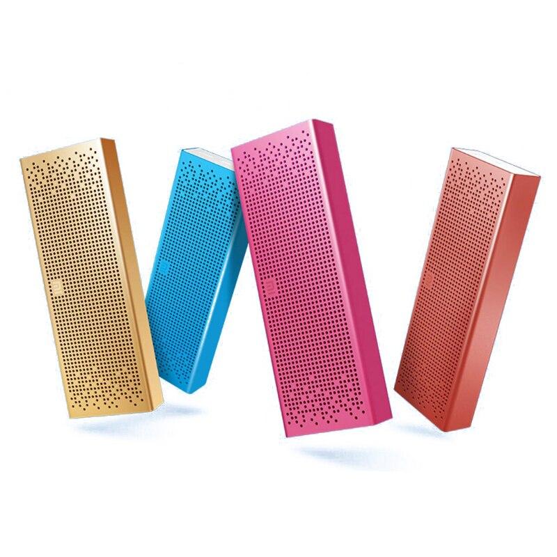 Haut-parleur d'origine Xiao mi mi Bluetooth haut-parleur stéréo sans fil Portable mi ni boîte Audio de poche mains libres