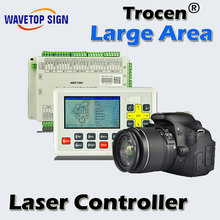 large format panoramic display ccd laser control system
