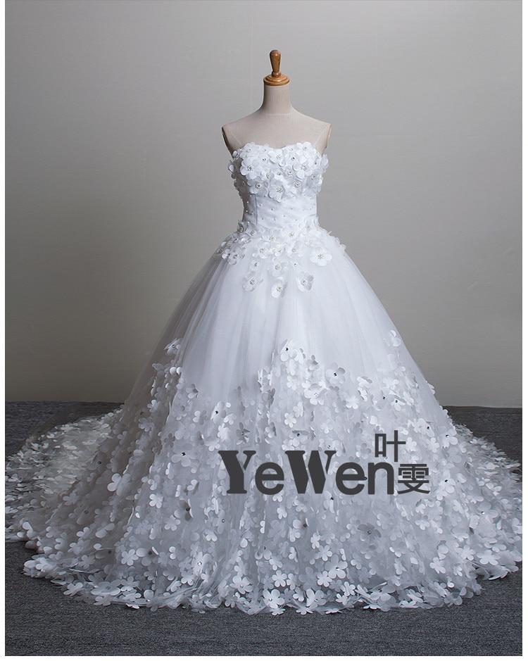 A-line Beach plus-size vintage Flowers Big Train boh IvoryRed wedding dresses vestidos de novia 2017 african wedding gowns