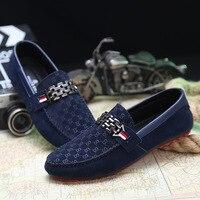 Летняя мужская обувь на плоской подошве; мужские лоферы без застежки; мокасины для вождения; мужская повседневная обувь; модная модельная С...