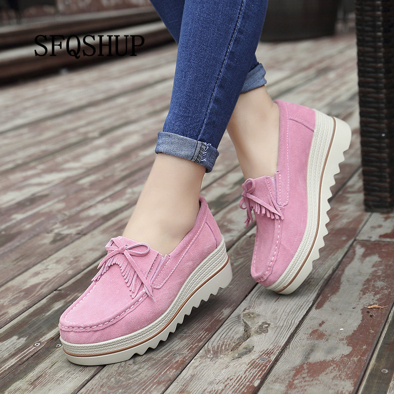 Cow leather breathable comfortable fashion walking casual shoes