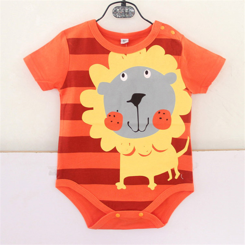 Summer Baby Rompers Cotton Baby Boy Clothes Baby Girl Clothes Newborn Baby Clothes Roupas Bebe Infant Jumpsuits Kids Clothes