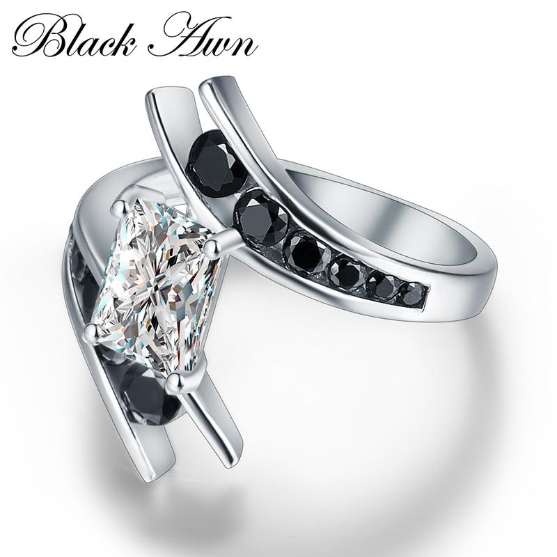 CZARNA AWN Fine Jewelry 5.1 Gram 100% Oryginalna 925 Sterling Silver - Wykwintna biżuteria - Zdjęcie 3