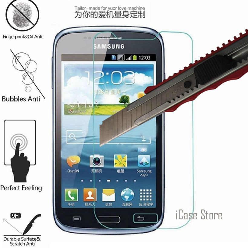 9H Gehard Glas Voor Samsung Galaxy Core Duos Screen Protector Sklo Glas Voor Samsung Gt I8262 I8260 GT-I8262 GT-i8260 8262 Case