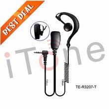 Walkie Talkie Headset For Motorola Talk About T5920 T5950 T6200 T6210 T6220 T6250 446 2.5mm Radio Earpiece Walkie Talkie Headset