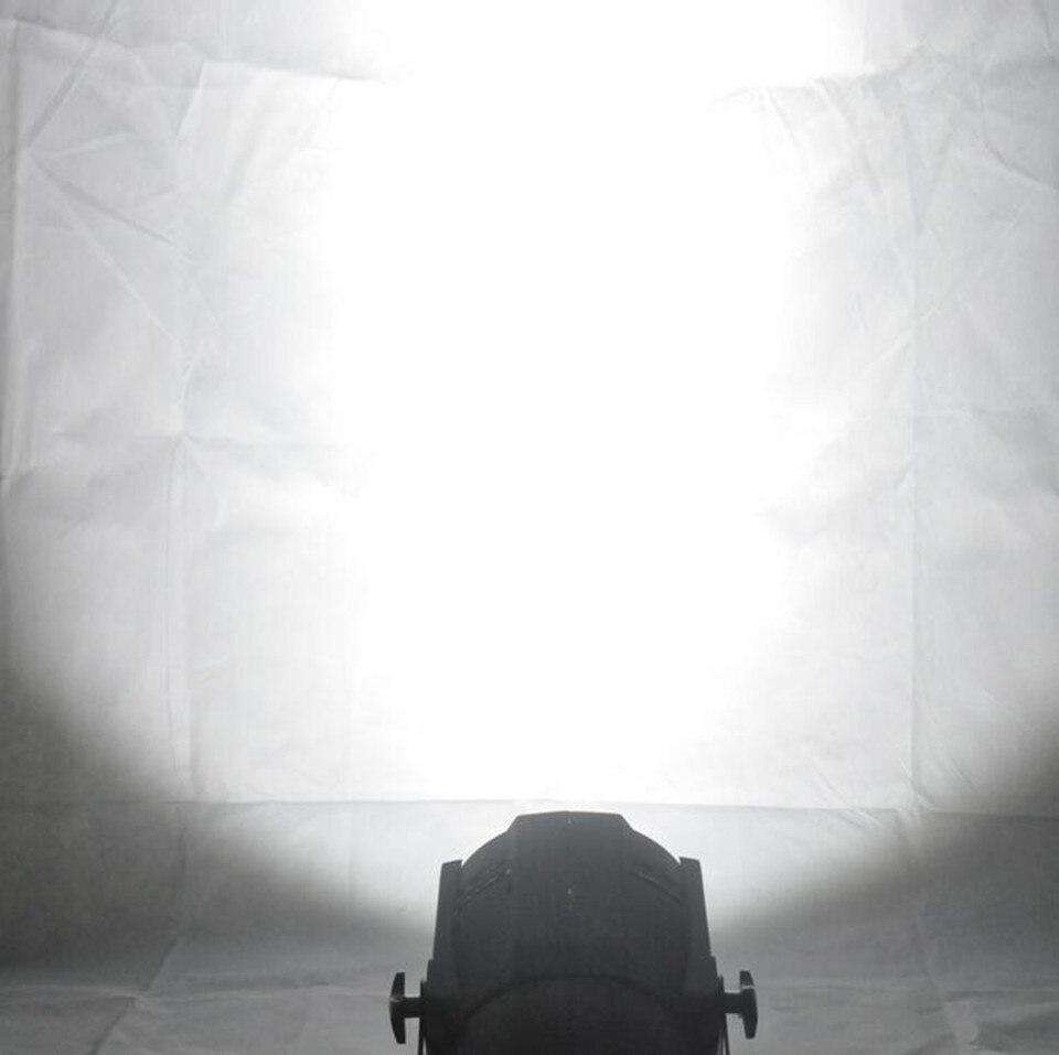 LED par 200 W COB RGBWA UV 5in1/RGBW 4in1/rvb 3in1/blanc froid chaud LED UV Par Par64 LED projecteur lumière dj - 6