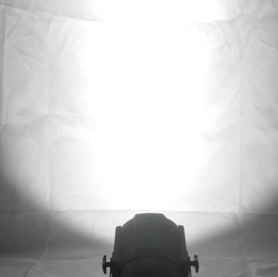 LED par 200W COB RGBWA UV 5in1/RGBW 4in1/RGB 3in1/ Warm White Cold white UV LED Par Par64 led spotlight dj light - 6