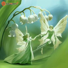 White Lily of the Valley Flower Convallaria Majalis Seeds Rich Aroma Bonsai Flower Seed and Beautiful 100 Particles / lot