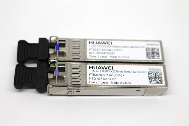 HW gigabit optical fiber bidirectional BiDi 40KM optical module SFP 1.25G single core 40KM