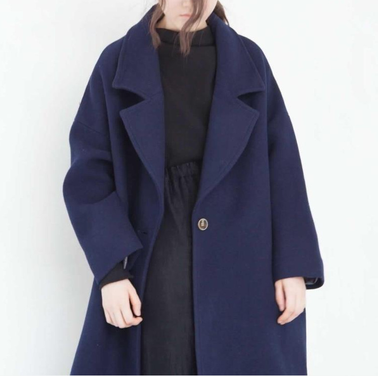 d0bcce72d Autumn and winter Female coat vintage casual coats loose batwing ...