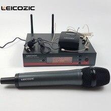 Leicozic True diversity 135G3 100G3 g3 ручной микрофон UHF беспроводной микрофон Система гарнитура микрофон петличный зажим микрофонный микрофон