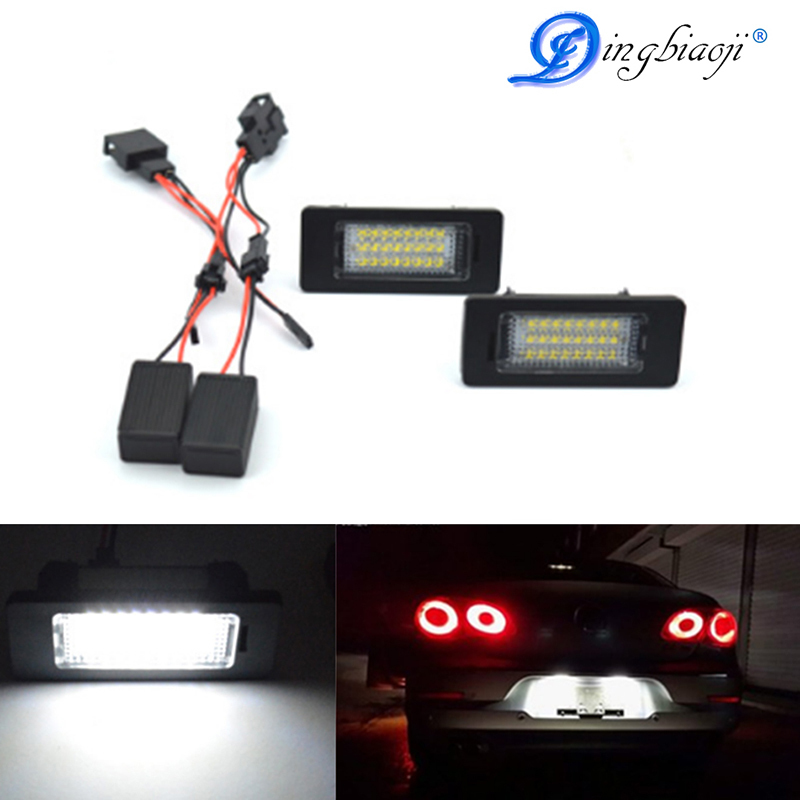 Best Seller Pz Free Error Smd Number Led Light Plate Of The Lamp - Audi oem parts