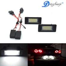 2 pz Free error 18smd number Led light plate of the lamp oem parts for Audi  A4 B8 A5 Q5 S5 TT S4 Quattro