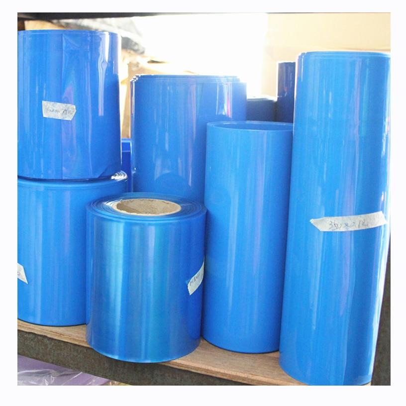 Tubo de contracción de calor de PVC de 1 kg una variedad de especificaciones 18650 funda de aislamiento retráctil de batería