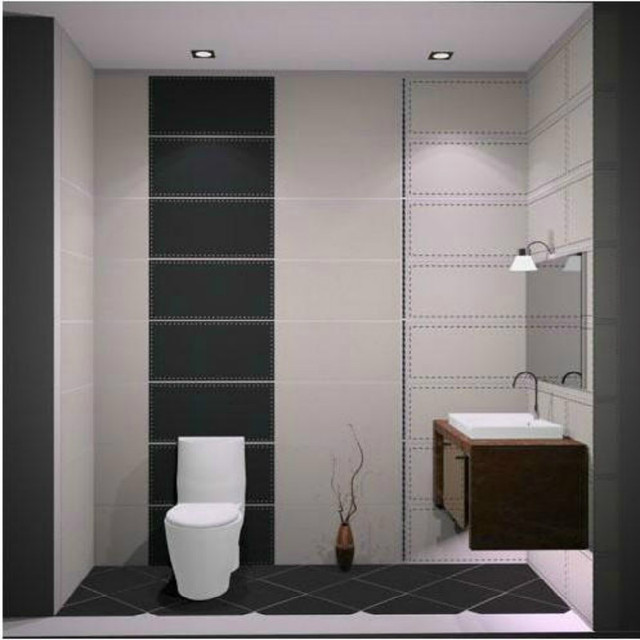 Hot 300 600 800 Aoid Undesirable Brick Bathroom Tile Interior Wall Floor Tiles
