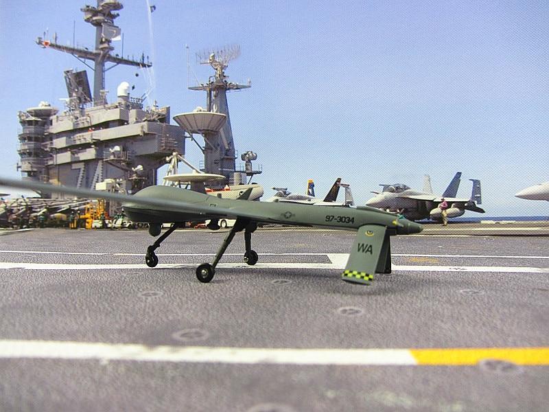 The MQ-1 Predator разведывательный самолет статическая Машина Модель Армия День святого валентина подарок 1: 72 человек