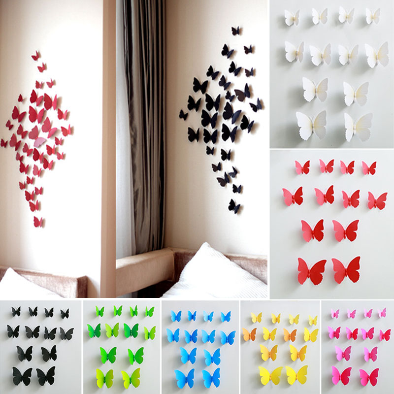 Cheap Wall Decor online get cheap diy butterfly wall decor -aliexpress
