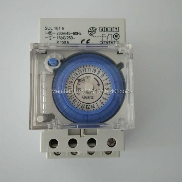 ce sul181h 24 hour mechanical timer time relay switch with batteryce sul181h 24 hour mechanical timer time relay switch with battery mini setting unit 30 minutes ac 220v 16a