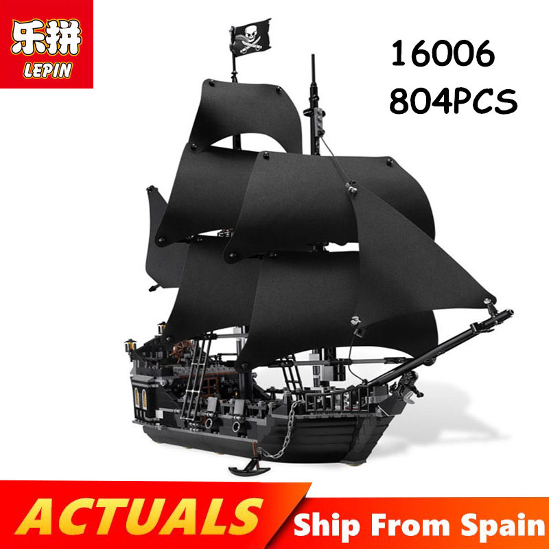 Lepin Building Blocks 16006 16009 22001 Movie series pirates of the caribbean black pearl ship Legoing technic 4184 toys Blocks lepin 16006 804pcs building bricks blocks pirates of the caribbean the black pearl ship legoing 4184 toys for children gift
