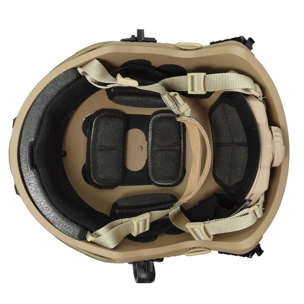us army helmet Airsoft paintball enhanced combat FAST MH