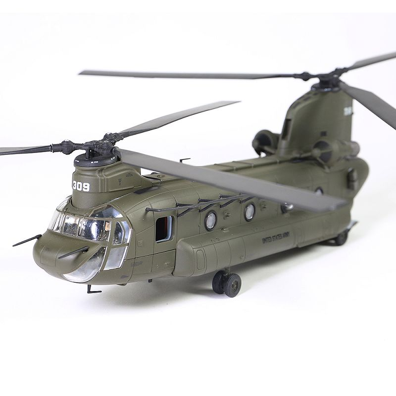 FOV 1/72 Scale Military Model Toys U.S. CH-47D Chinook Helicopter Diecast Metal Plane Model Toy For Collection/Gift/Decoration fov print 84208 us apache longbow helicopter gunships 1 48 alloy model fm