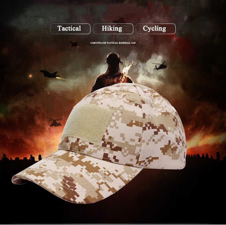 في الهواء الطلق التمويه الصيد قبعة رجالي البساطة العسكرية الجيش كامو الصيد قبعات gorra متعددة حدبة قبعة بيسبول