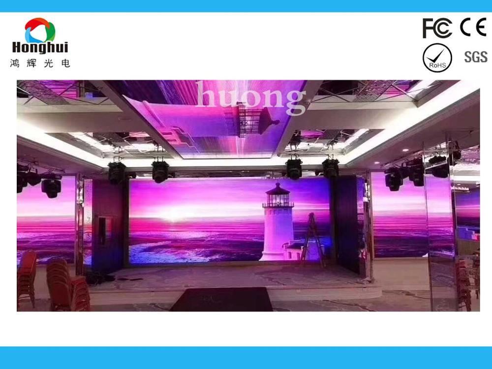 P4 Indoor  led display Module High Definiation Full Color, Monitoring Room Big LED Screen TV P4 Indoor Narrow Pixel Pitch LED
