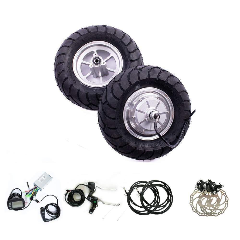 """13"""" 48v 1000w electric scooter kit with road tyre"""