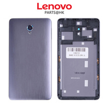 Original New Metal Rear Housing Door For Lenovo S860 Back Battery Cover Case with Camera Lens+SIM Card Tray S860T Assembly