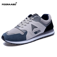 Low Top Mens Trainers Breathable Shoes Spring Autumn 2016 Mens Casual Shoes Comfortable Suede Mens Shoes Casual Chaussure Homme