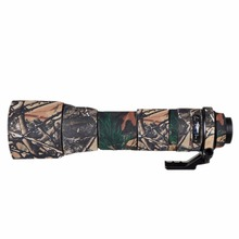 Для Tamron 150-600A011 кожи Камера объектив Водонепроницаемый неопрена Camo Пистолеты Костюмы защитная крышка объектива пальто камуфляж случае