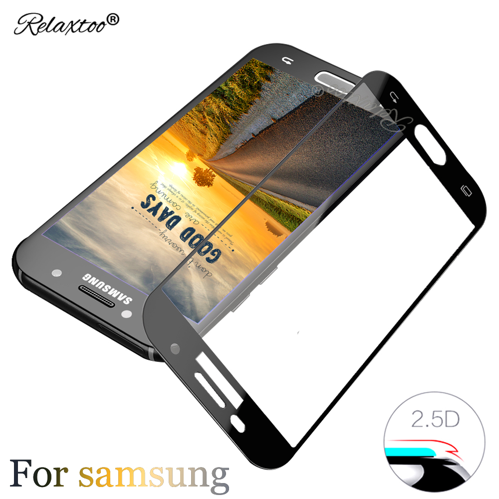 9H full cover Tempered Glass for samsung galaxy s7 s6 sansung j2 j3 j5 j7 pro 2017 a3 a5 a7 a8 plus 2018 2016 case Screen film