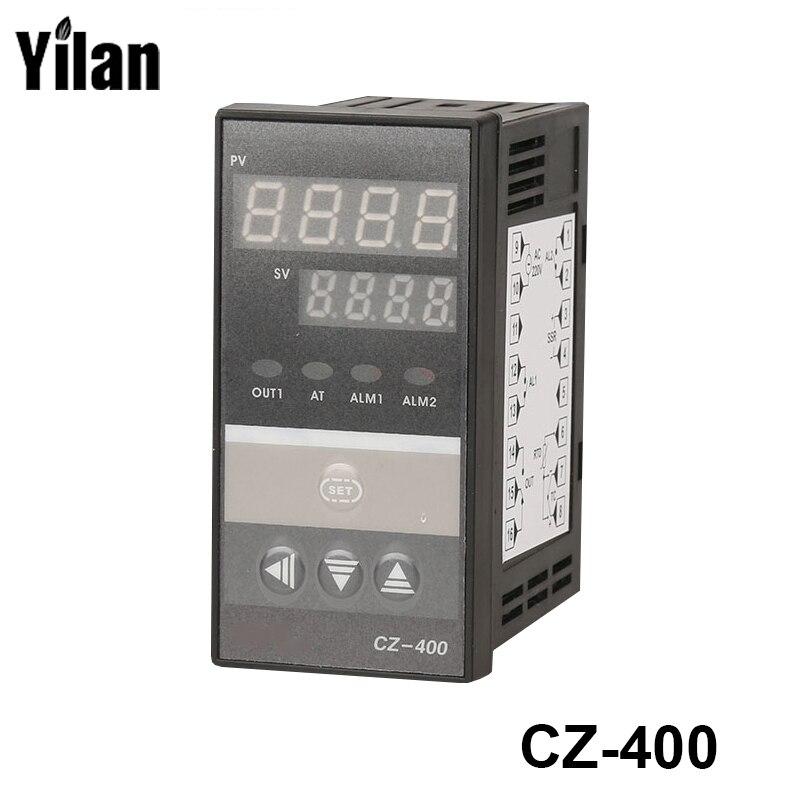 PID цифровой Температура контроллер РКЦ REX-C400 Универсальный Вход реле Выход вертикального типа для автоматической упаковки машины