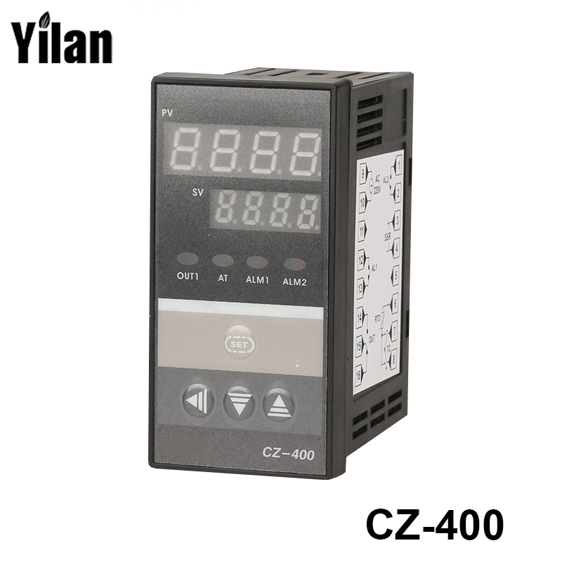 PID Digital Temperature Controller RKC REX-C400 Universal Input Relay Output Vertical type for Automatic Packing Machine  цены
