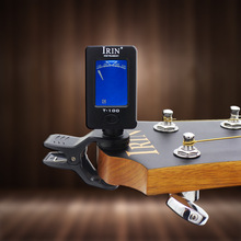 IRIN guitar bass ukulele violin tuner automatic mini portable clip on digital pedal lcd string accessories