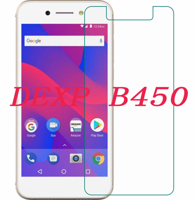 """Teléfono Inteligente 9 H vidrio templado para DEXP B450 5,0 """"Protector de pantalla de película protectora a prueba de explosiones"""