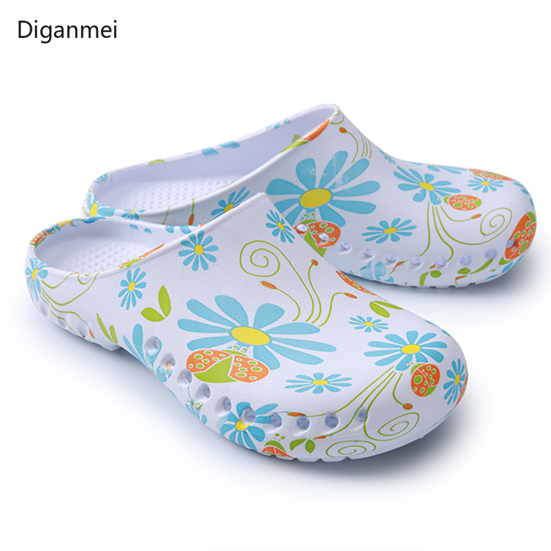 Medical Slippers Clean Surgical Surgery Shoes Nursing Clogs  Operating Room Non-slip Shoes Orthopedic Slippers Nurses Clogs