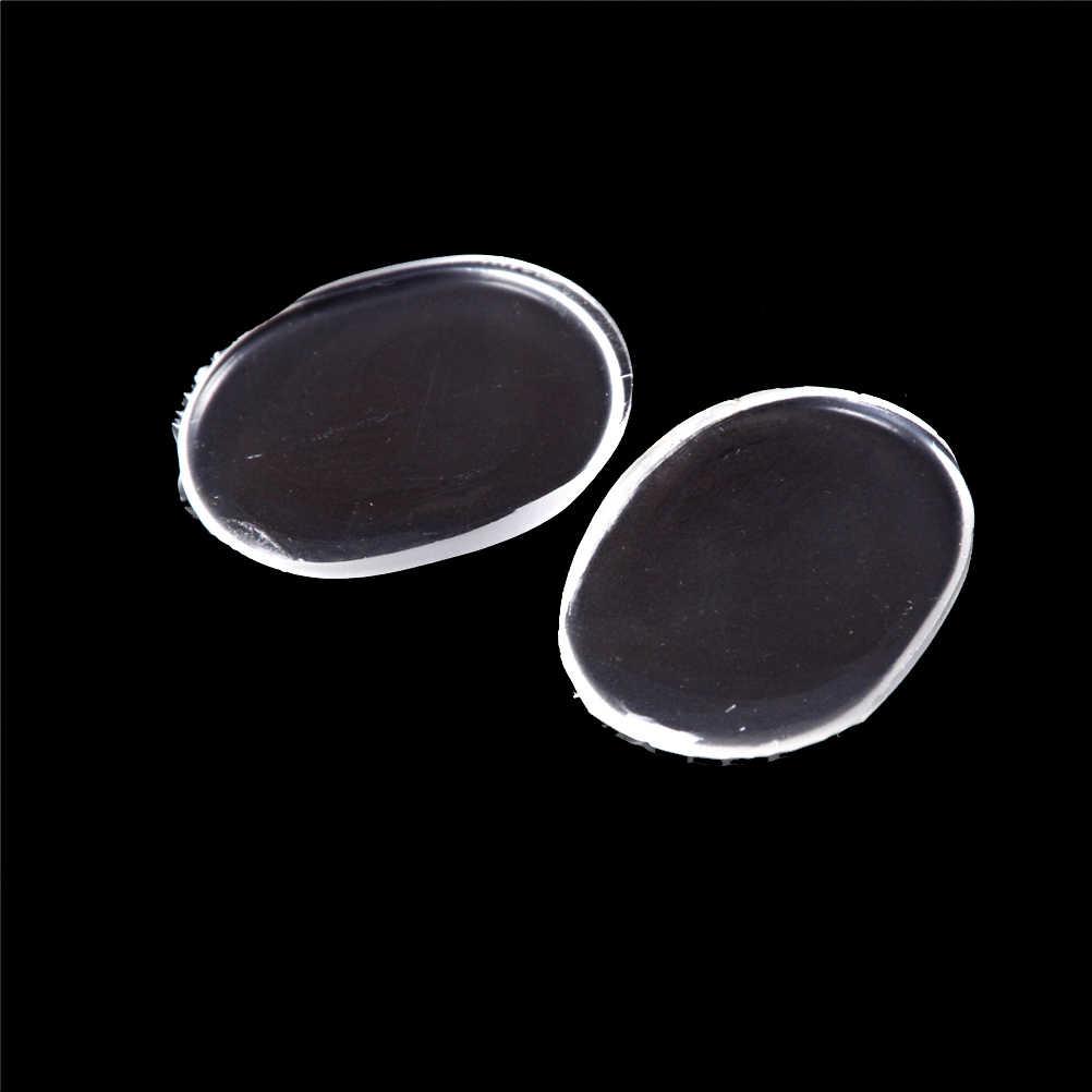6 piezas/hoja antideslizante almohadillas de Gel en la parte delantera de tacones frotando cojín de silicona insertar plantillas