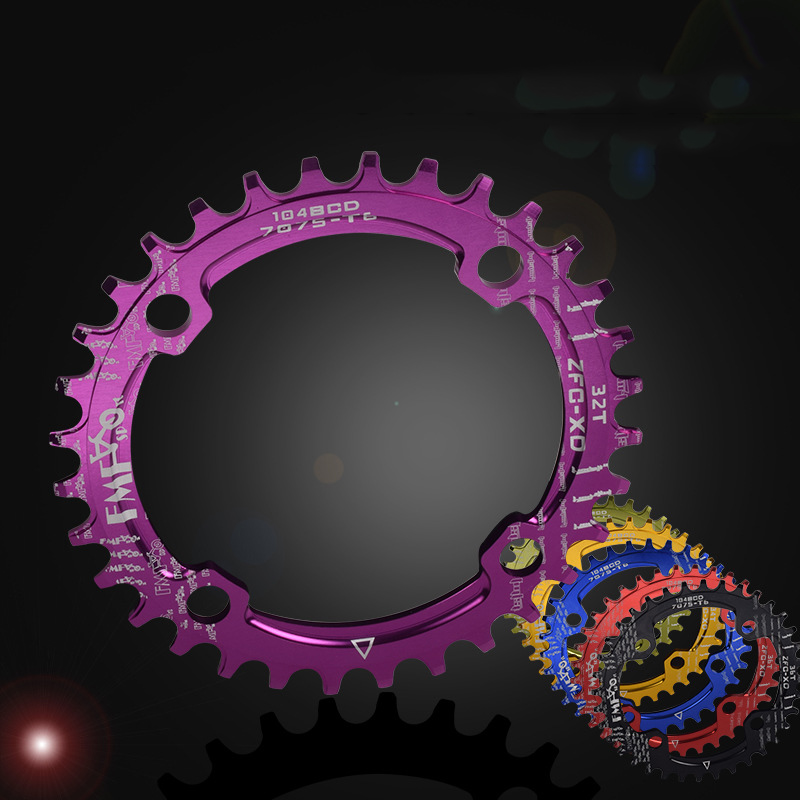 OLD SCHOOL BMX TWO PIECE EXCLUSIVE 44TEETH CHAINRING 80/'s PURPLE VERY LOW PRICE