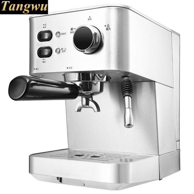 Espresso Maker Uses A Full Semi Automatic Steam Coffee