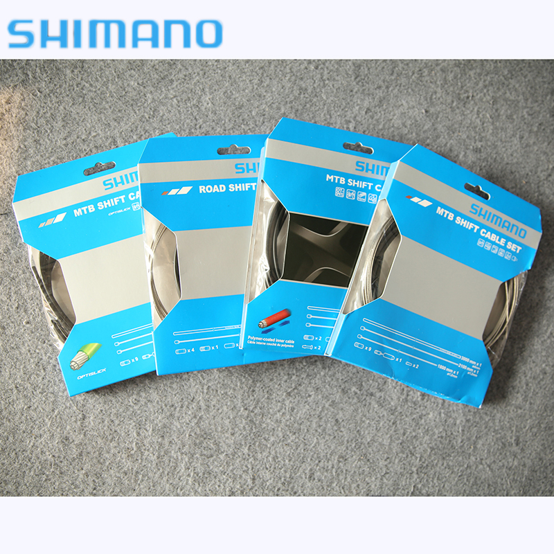 SHIMANO ciclismo ensemble de câbles de changement de vitesse vtt noir câbles de changement de vitesse boîtier 3300mm * 1 pièces de vélo accessoires de vélo Y01V98110