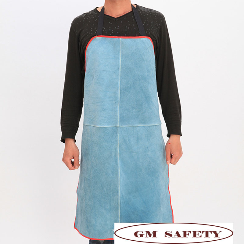 Workplace Safety Supplies Selfless Cow Leather Welding Working Apron Heat/flame Resistant Work Clothes For Men/women For Woodwork Nl004 Sophisticated Technologies