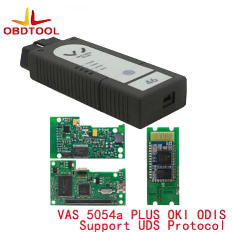 OBDTOOL VAS 5054A Plus ODIS V4.3.3 Plein Puce OKI OBD2 Outil De Diagnostic vas 5054 Plus Bluetooth Appui Protocole UDS