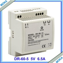 Free Shipping 60w Din Rail DC Output Power Supply High Performance Switching Power Supply