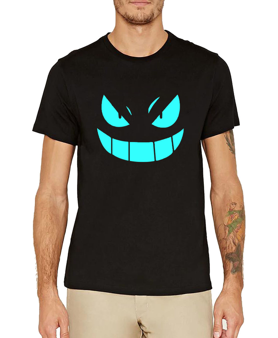 noctilucous cartoon clothing Men 2019 fashion tee shirt homme Anime summer high quality fitness camisetas cotton t-shirts S-3XL