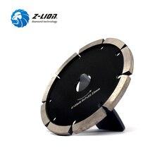 """Z LION 다이아몬드 정력 포인트 블레이드 5 """"125mm 콘크리트 스톤 정력 포인트 다이아몬드 톱 블레이드 6 두께 세그먼트 다이아몬드 그라인딩 블레이드"""