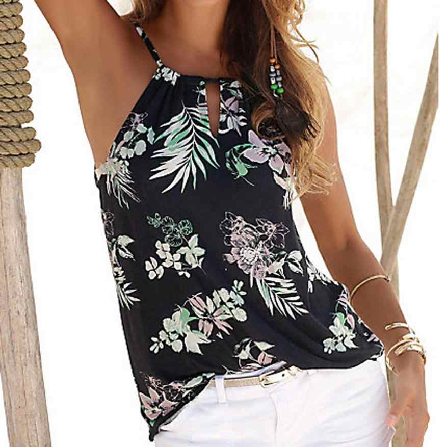 76fa28b5622aaf Detail Feedback Questions about Womens Floral Summer Strappy Vest ...